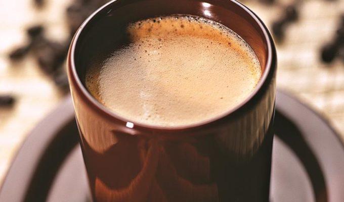 Кофейный пунш с черным шоколадом и имбирем