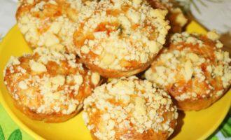 Кабачковые кексы в духовке рецепт