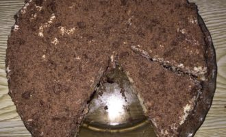 Шоколадный торт с черешней рецепт с фото 9