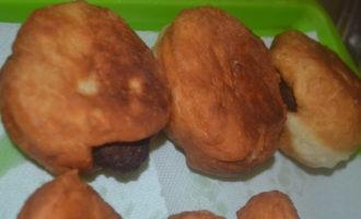 Пончики с котлетой пошаговый рецепт