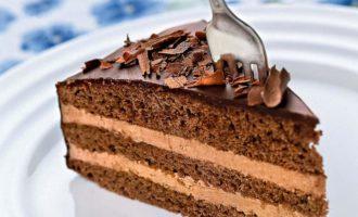 Торт прага домашний со сгущенкой