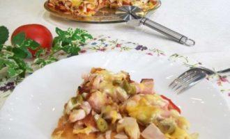 Рецепт вкусной домашней пиццы в духовке