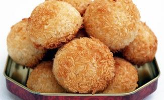 Печенье с кокосовой стружкой в духовке