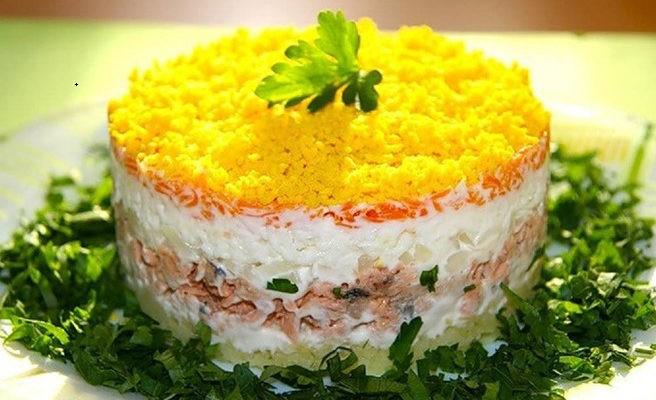 Салат мимоза рецепт