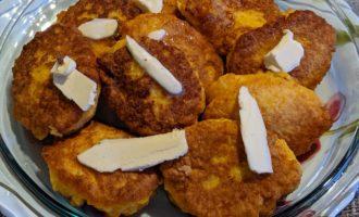 Оладьи из тыквы простой рецепт на сковороде 5