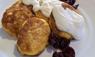 Оладьи из тыквы простой рецепт на сковороде 6
