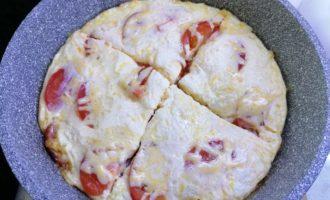 Пицца в сковороде за 10 минут пошаговый рецепт