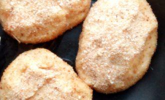 Картофельные котлеты с грибным соусом рецепт 9