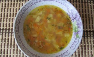 Постный гороховый суп пошаговый рецепт с фото