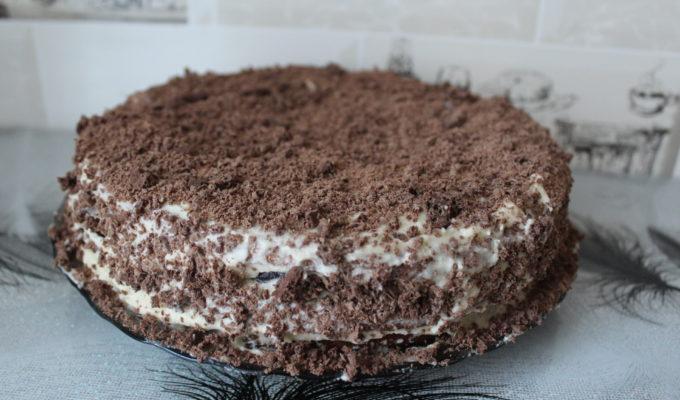 Шоколадный торт с черешней рецепт с фото