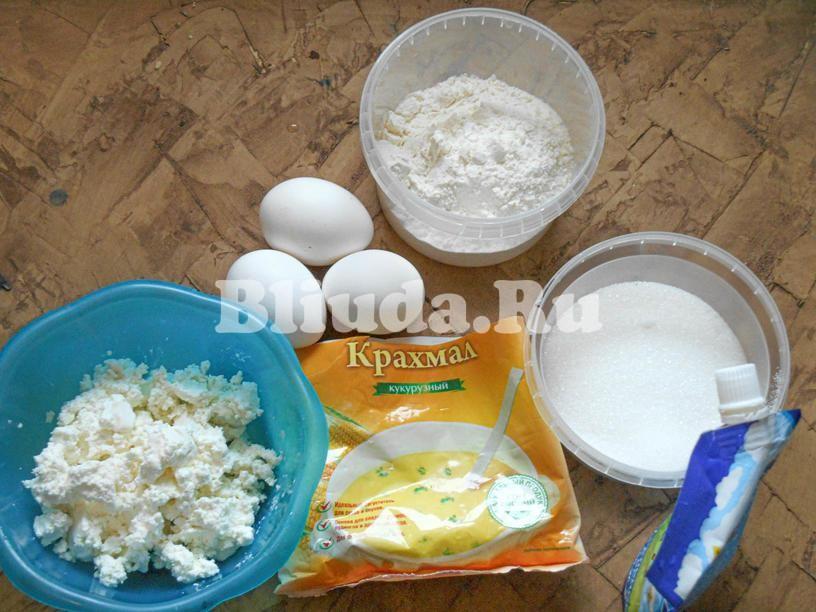 бисквитные пирожные рецепт с фото ингредиенты