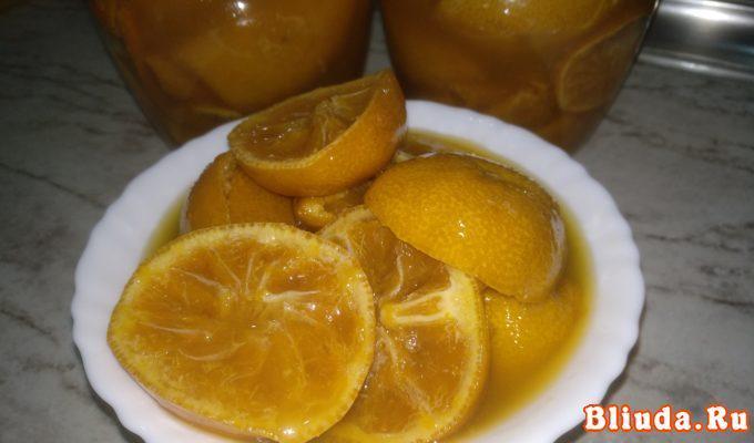 Варенье из мандаринов с кожурой фото