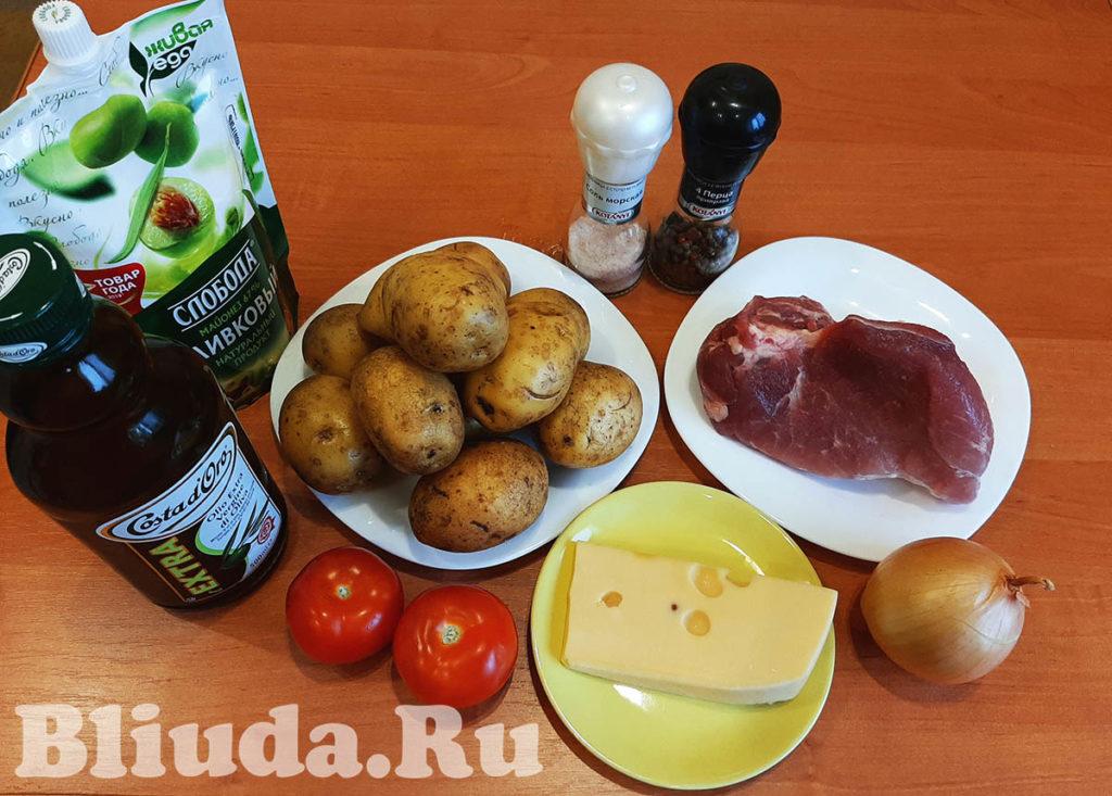 Мясо по французски из свинины в духовке фото 2