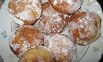 пончики с заварным кремом фото