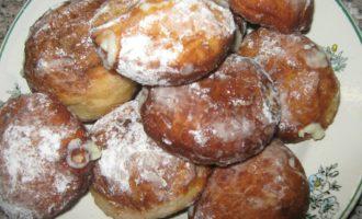 Пончики с заварным кремом фото 11