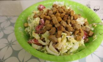 Салат из пекинской капусты фото 9
