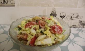 Салат из пекинской капусты фото 14