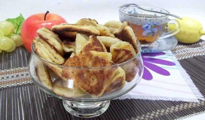 Домашнее печенье гусиные лапки рецепт