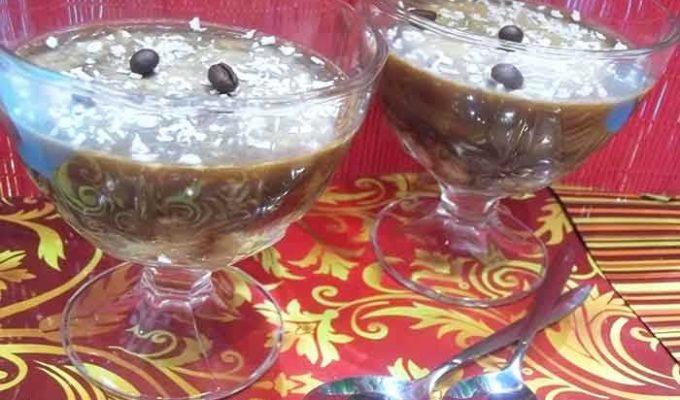 кофейно молочное желе рецепт
