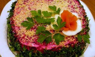 селёдка под шубой рецепт классический пошаговый с яблоком