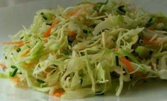 салат с капустой и огурцами свежими рецепт