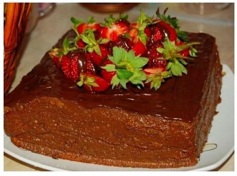 Торт шоколадное чудо фото