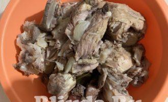 Холодец из свинины и курицы фото 2