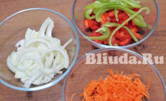 Cтейк синей зубатки с овощами в духовке фото 4