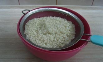 Плов из свинины в мультиварке Подготавливаем рис