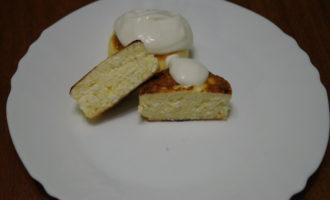 творожные сырники на сковороде фото