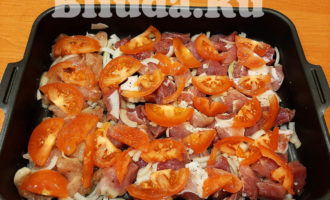 Мясо по французски из свинины в духовке фото 7