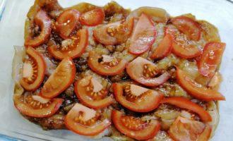 Куриная грудка с помидорами и сыром в духовке фото 7