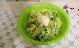 Салат из пекинской капусты фото 4