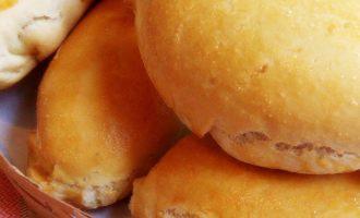 Пирожки с мясом в духовке фото