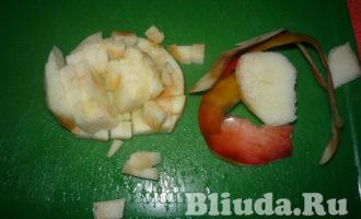 салат оливье с колбасой и яблоками фото 12