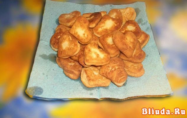 Пончики на сметане фото