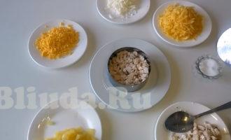 Ананасовый салат с курицей фото 3